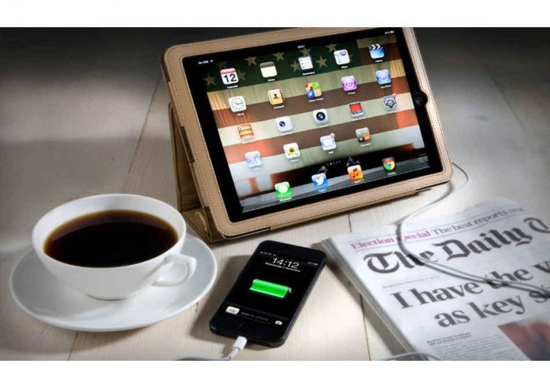 Pebble Folio — husa-incarcator portabil image