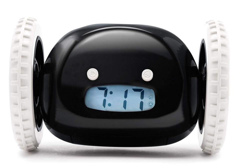 Ceasul Clocky -- Fuge si te trezeste de vrei, de nu vrei!