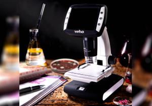 Microscop portabil LCD 1200X -- Lumea celulelor la picioarele tale.