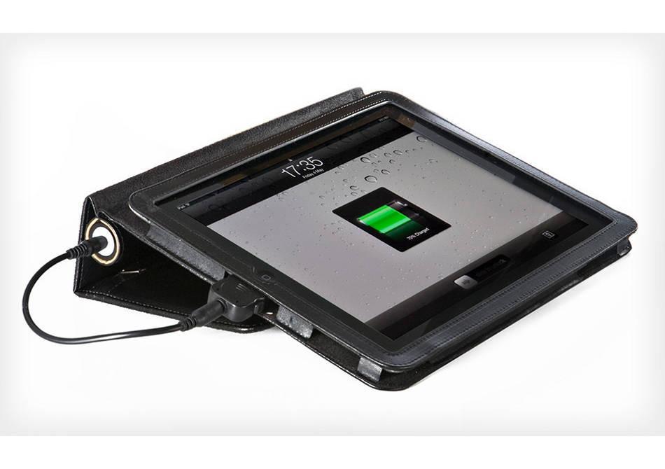 Pebble Folio — husa-incarcator portabil