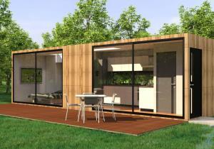 The Smuff iHouse -- Casa de vacanta de lux, smart si portabila