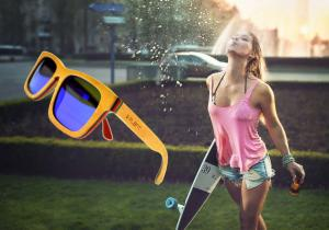 Skateboard Tricolor Sunglasses -- So cool. SoLEMN.