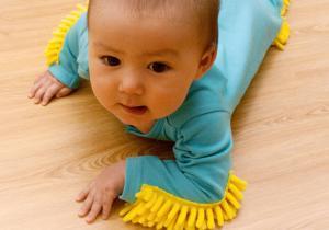 Baby Mop -- Etica muncii, inca de la inceputuri