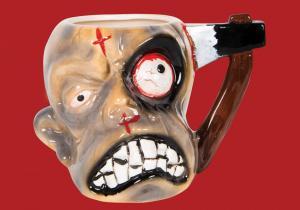 Cana Zombie -- O cafea buna dintr-un cap frumusel de zombie