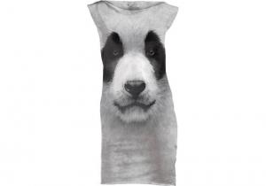 Big Face Rochie Panda -- Ascunde-te printre bambusi!