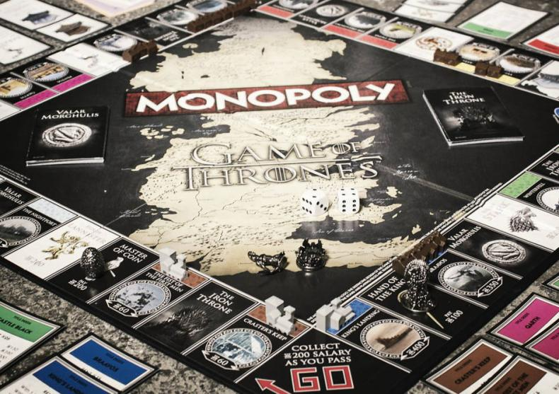 Game of Thrones Monopoly -- You win or you die image
