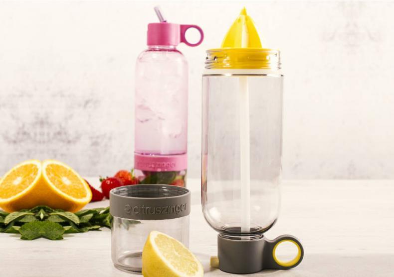 Sport Zinger -- Apa cu vitamine pentru antrenament. image