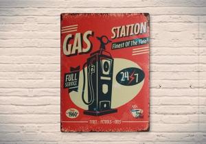 Gas Station -- fa plinul din energii retro.