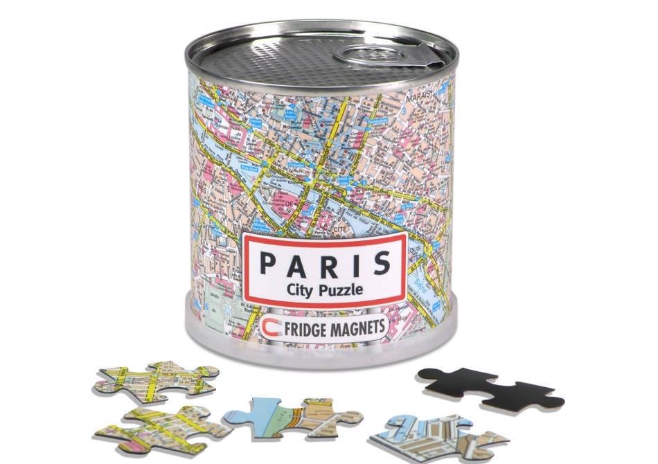 City Puzzle Magnetic -- Conservele de capitala