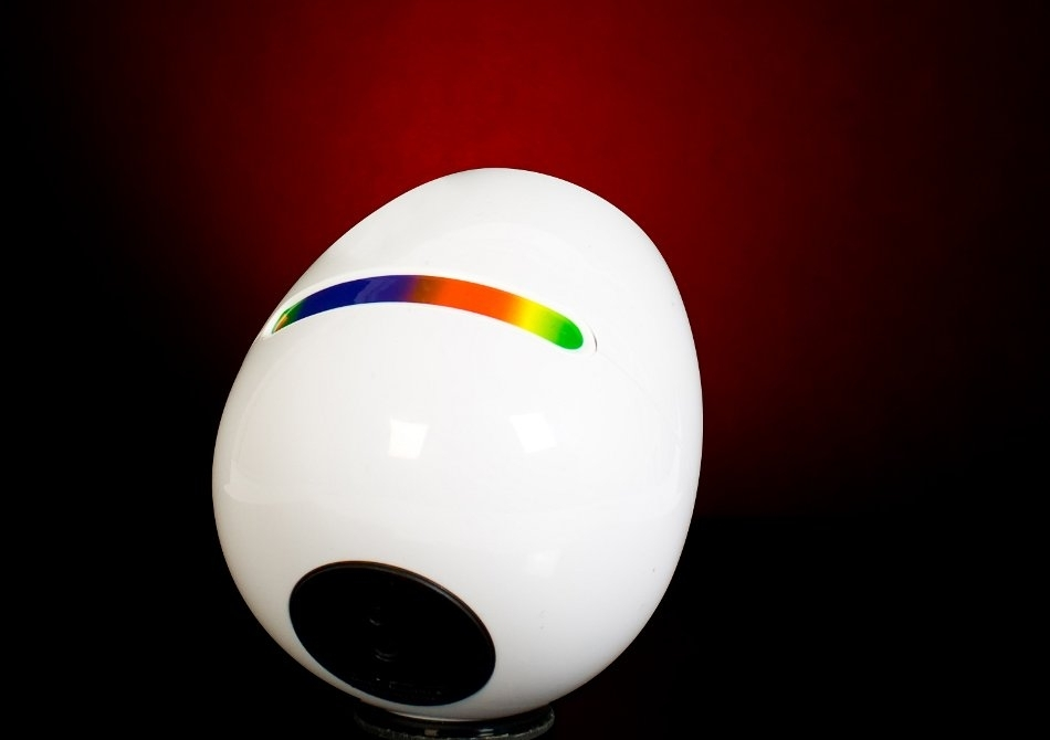 Lampa 256 -- Cromoterapie mobila cu touchscreen