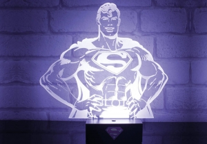 Superman Hero Light -- Inlatura spaimele noptii!