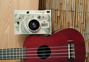 Lomo'Instant Honolulu si 3 Lentile -- Camera foto cu printare instanta