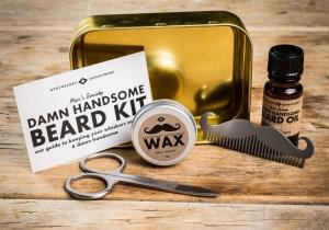 Damn Handsome -- Kit-ul complet pentru o barba frumoasa.
