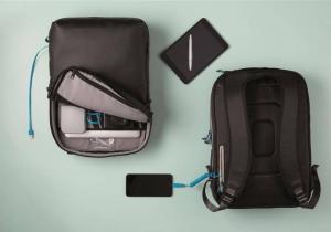 Rucsac Hybrid XD -- Design minimalistic cu incarcator incorporat