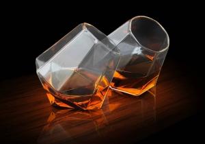 Pahare Diamond -- Set de doua pahare-diamant
