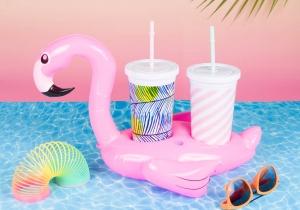 Flamingo pentru bauturi -- Viata e roz, mai ales in doi!