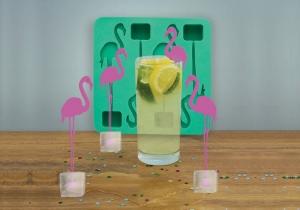 Cocktail Flamingos -- Cvartet de pasari pentru cocktailuri reci