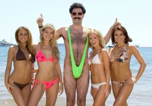 Borat bikini – Borat mankini – You need balls for it. / Have you got the balls for it?