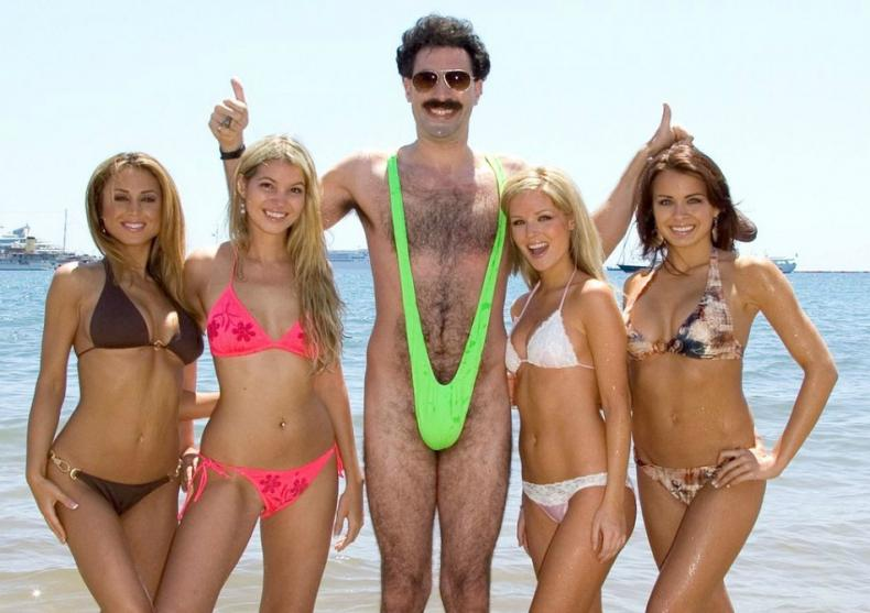 Borat bikini – Borat mankini – Have you got the balls for it? image