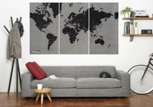 Harta Oraselor Lumii - Lasa-ti amprenta peste tot in lume!