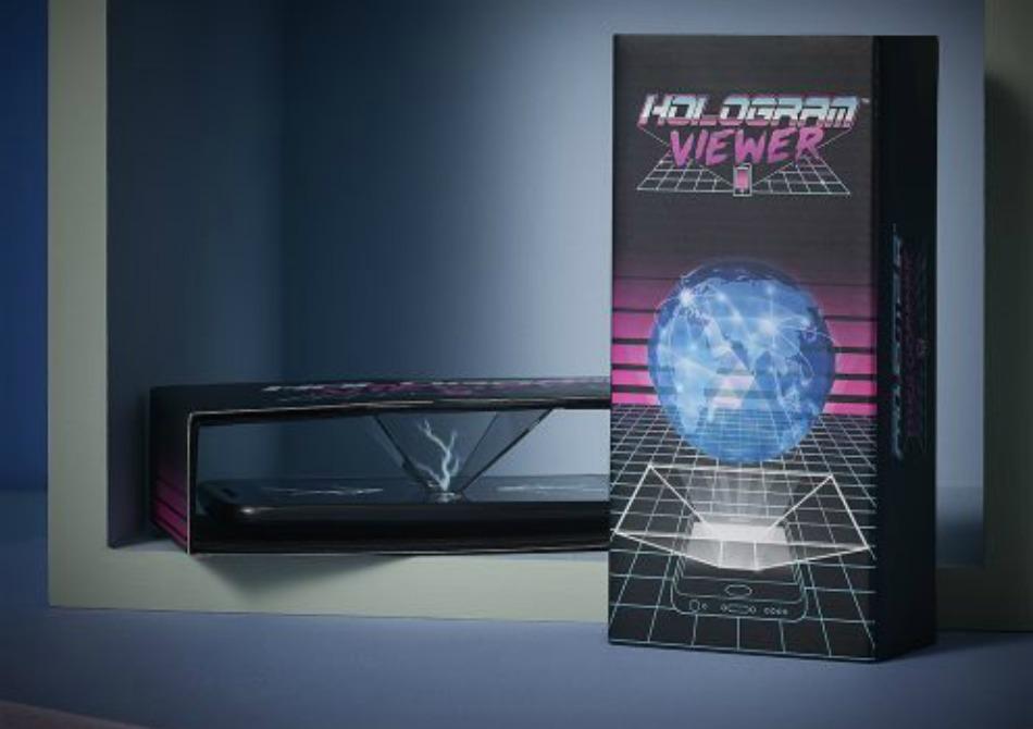 Hologram Viewer - Mesaje decupate din viitor