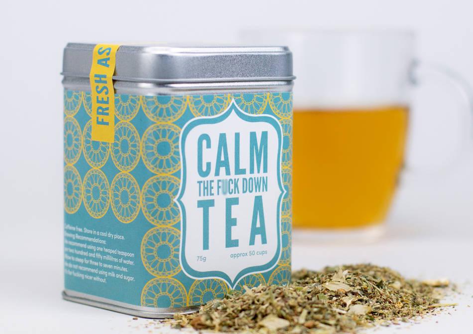 Calm the f*ck down tea -- ceai pentru irascibili.