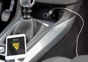 Incarcator cu handsfree masina -- Tine la siguranta ta!