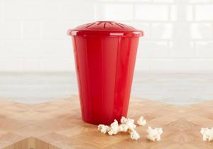 Microwave Popcorn -- Suport vintage pentru floricele