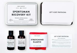 Sportsman Recovery Kit -- Alintarea muschilor bine dezvoltati