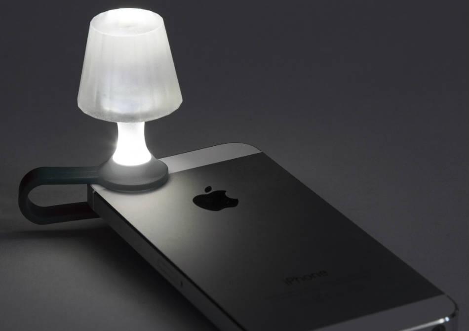 Luma -- Mini-veioza smartphone