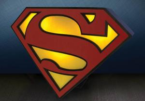 Veioza Superman --  Super lampa de supererou