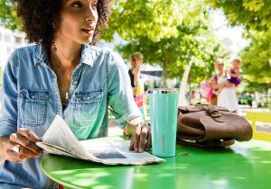 Tumbler Turquoise -- Fresh ca o briza de aer