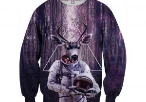 Pulover Astrodeer -- Get lost in space, my dear