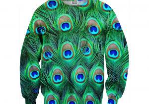 Pulover Peacock -- Cu penele altuia te poti impodobi