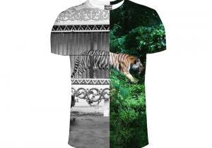Tricou Tiger Cage -- Efect dualistic