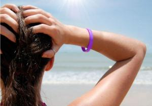Bratara senzor UV -- Protectie impotriva invizibului