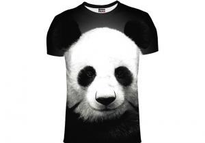 Tricou Panda -- Simte-te ca printre bambusi!