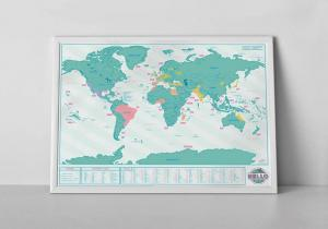 Harta Razuibila Hello -- Salutari in 190 de tari!