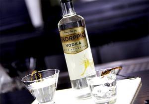 Vodka scorpion -- curiozitate deluxe