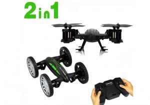 Masina de teren si Drona -- Fuge si zboara
