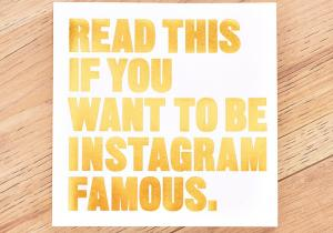 Read this if you want to be Instagram famous - Cheia succesului