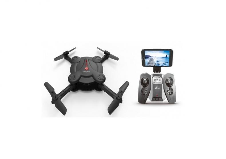 Drona iDRONE - Cu brate pliabile camera Wifi si radiocomanda image