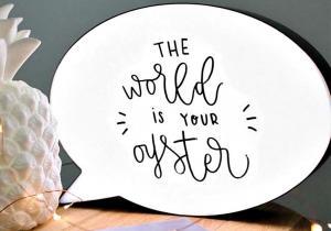 Lampa conversationala -- Caspula cu notite haioase