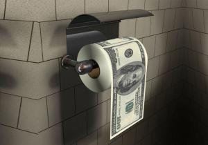 Hartie igienica 100 de dolari -- Traieste in stilul miliardarilor