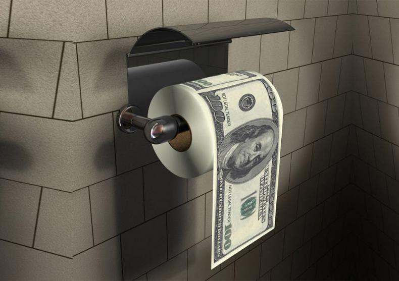 Hartie igienica 100 de dolari -- Traieste in stilul miliardarilor image