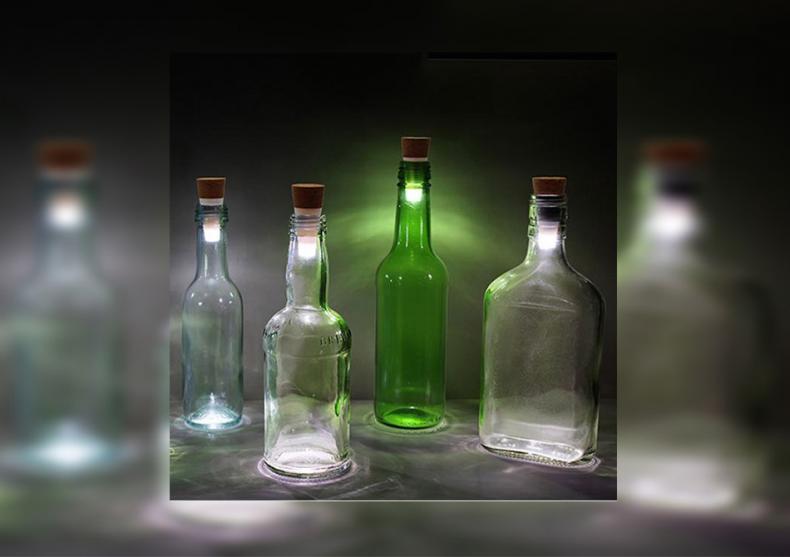 Dop LED luminos -- Da-le o noua viata sticlelor image