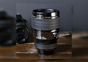Cana ceramica obiectiv foto  -- Serveste cu pasiune hobby-ul tau