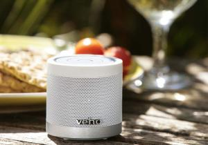 Veho 360° Bluetooth Wireless Speaker -- Ice white sau deep black
