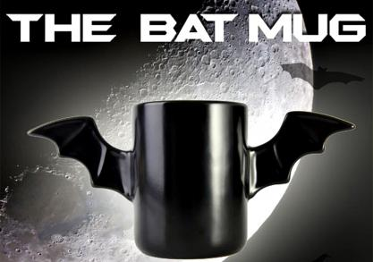 Bat Mug -- Din Batcave direct pe masa ta