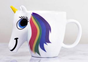 Cana termosensibila 3D Unicorn -- Gusta curcubeul